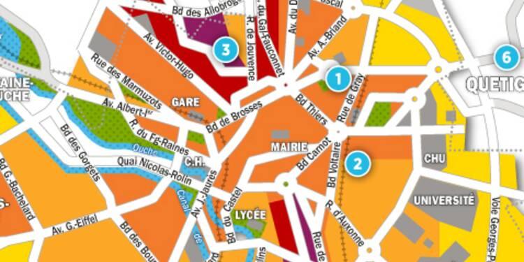 Immobilier à Dijon : la carte des prix 2017