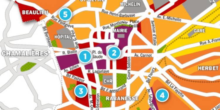 Immobilier à Clermont-Ferrand : la carte des prix 2017