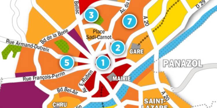 Immobilier à Limoges : la carte des prix 2017