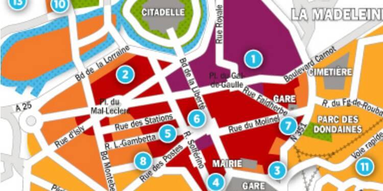 Immobilier à Lille : la carte des prix 2017