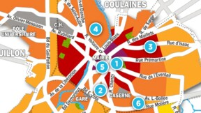 Immobilier au Mans : la carte des prix 2017