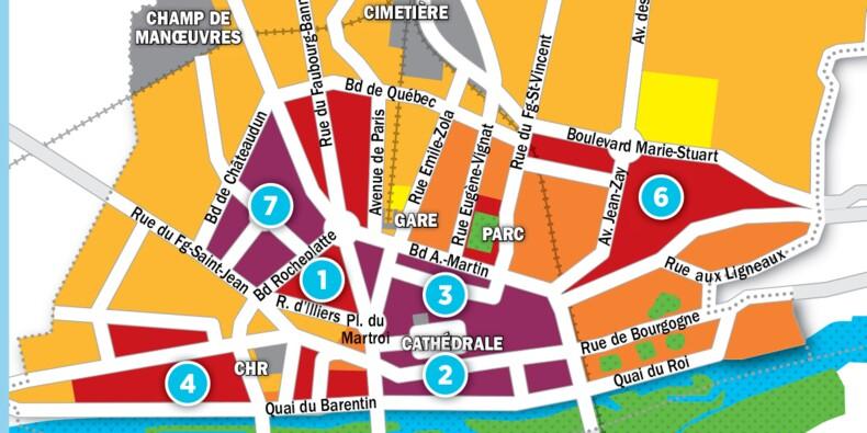 Immobilier à Orléans : la carte des prix 2017