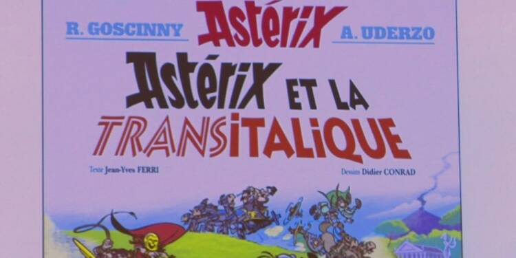 Un 37e album d'Astérix en librairie le 19 octobre