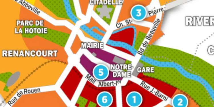 Immobilier à Amiens : la carte des prix 2017