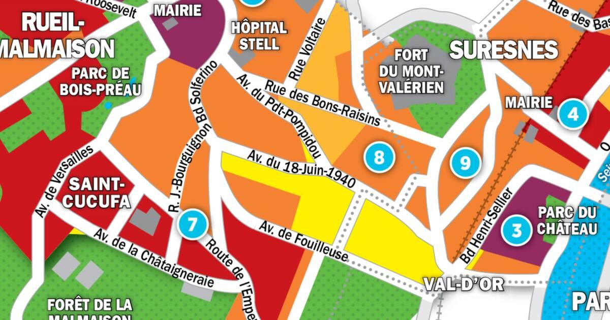 Immobilier à Rueil-Malmaison, Suresnes et Puteaux : la carte des prix 2017 - Capital.fr