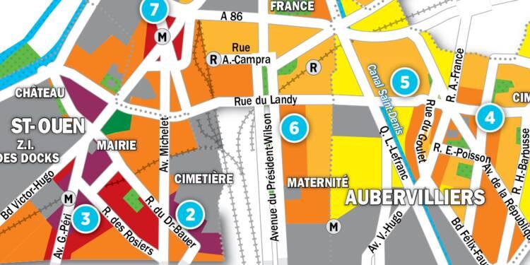 Immobilier à Saint-Ouen, Aubervilliers et St-Denis : la carte des prix 2017