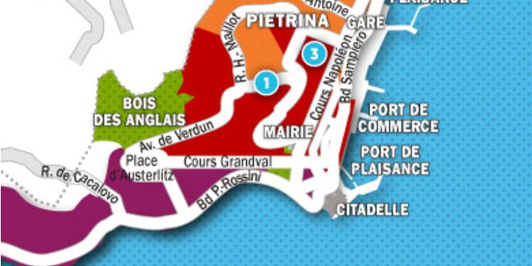 Immobilier à Ajaccio : la carte des prix 2017