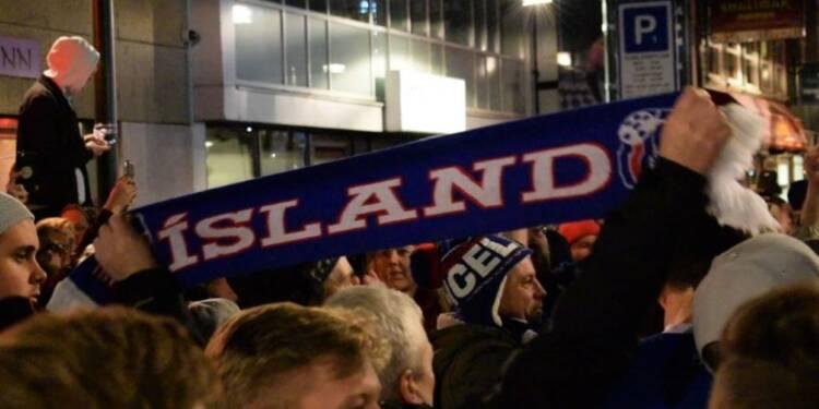 Coupe du Monde: joie en Islande après la qualification