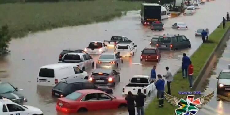 Inondations en Afrique du Sud, plusieurs morts