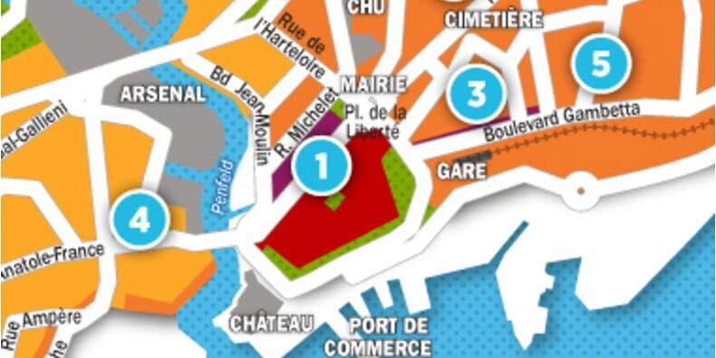 Immobilier à Brest : la carte des prix 2017
