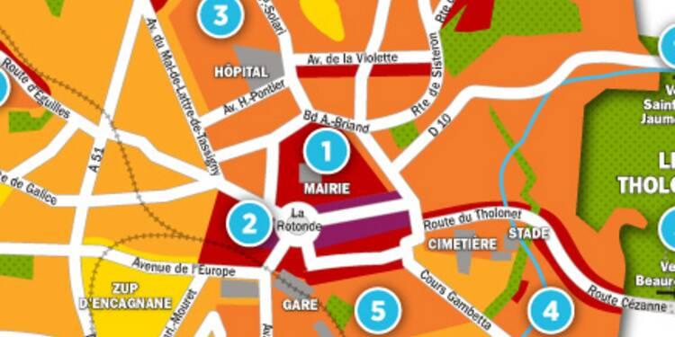 Immobilier à Aix-en-Provence : la carte des prix 2017