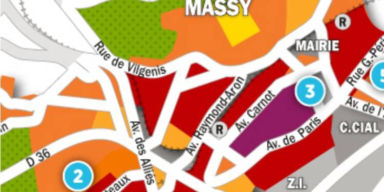 Immobilier à Massy et Palaiseau : la carte des prix 2017