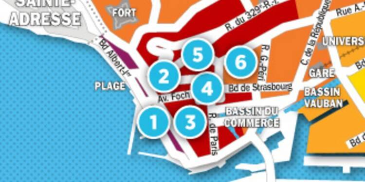 Immobilier au Havre : la carte des prix 2017