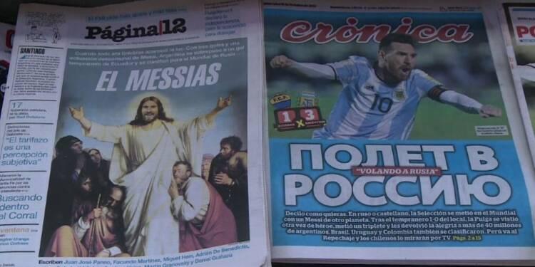 Foot: Les éclairs de génie de Messi font la fierté des Argentins