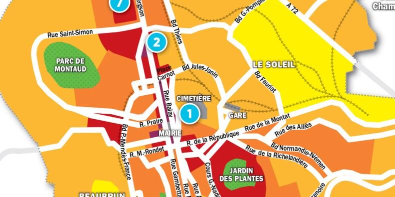 Immobilier à Saint-Étienne : la carte des prix 2017