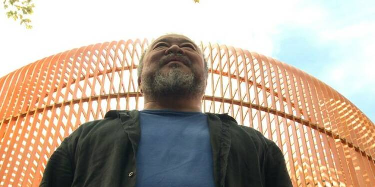 L'artiste chinois Ai Weiwei honore New York, fief pro-migrant