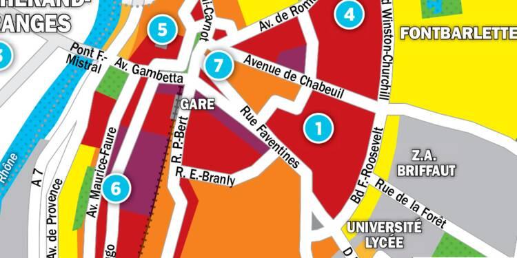 Immobilier à Valence : la carte des prix 2017
