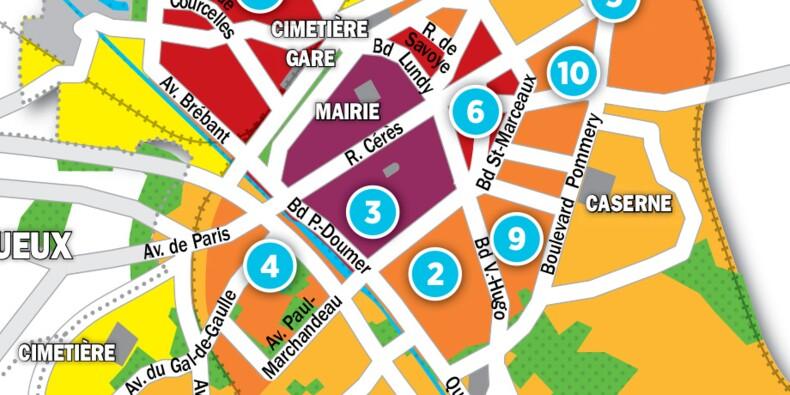 Immobilier à Reims : la carte des prix 2017