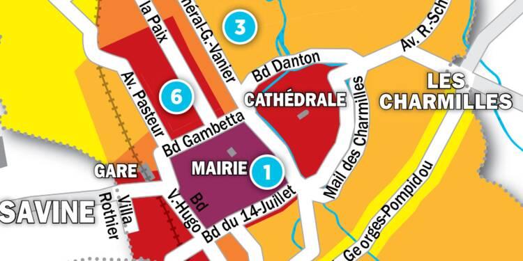 Immobilier à Troyes : la carte des prix 2017