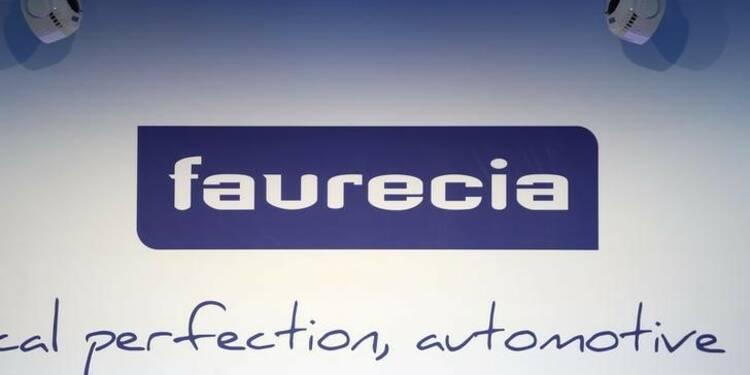Faurecia: Croissance organique 10,7% au 3e trimestre, objectifs confirmés
