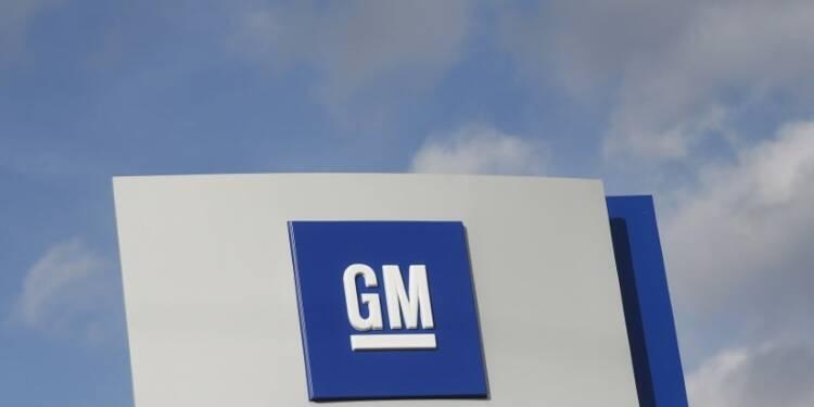 GM annonce une baisse de la production dans une usine de Detroit
