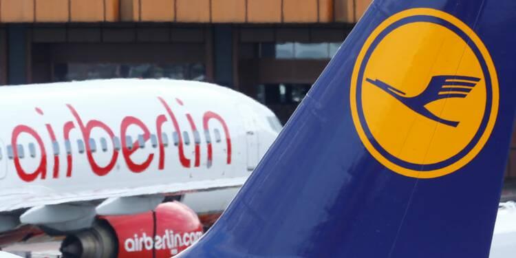 Lufthansa se renforce en reprenant des actifs d'Air Berlin