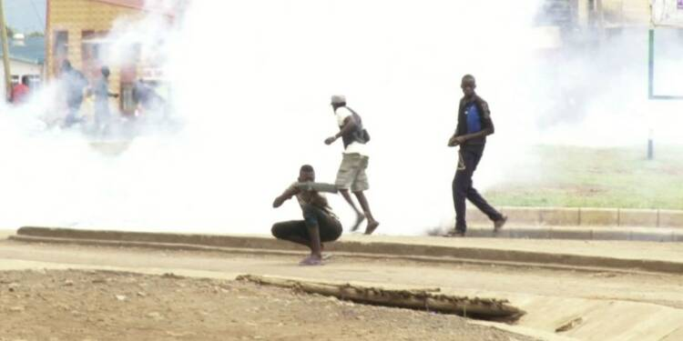 Kenya: NASA dénonce les heurts entre police et manifestants