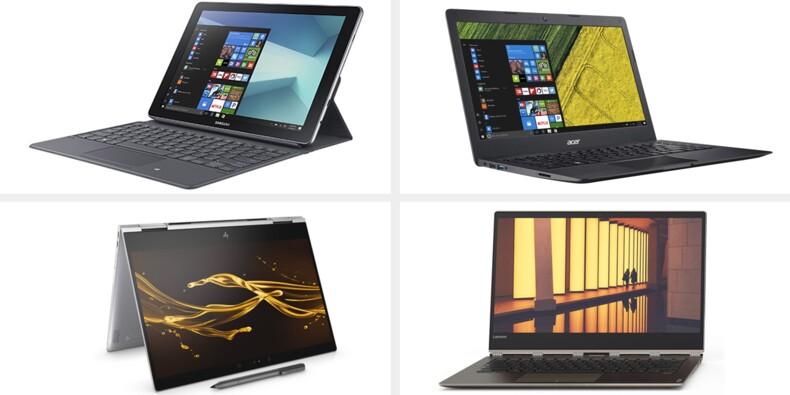 10 ordinateurs portables au banc d'essai