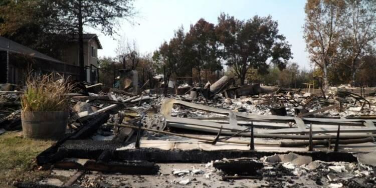 Incendies en Californie: des habitants effarés par les dégâts