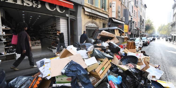 Marseille croule (encore) sous les ordures