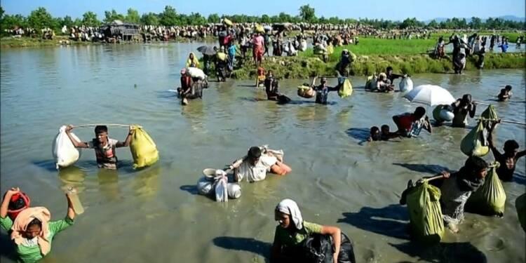 Les Rohingyas continuent de fuir la Birmanie pour le Bangladesh