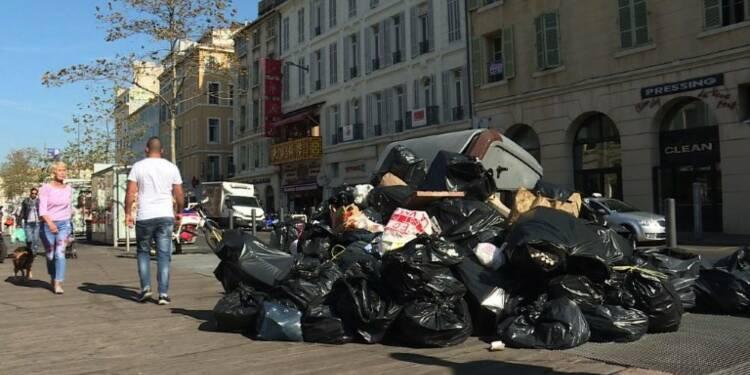 Marseille: le ramassage d'ordures reprend après 6 jours de grève
