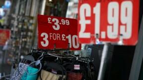 L'inflation à 3% en septembre au Royaume-Uni, un pic depuis avril 2012