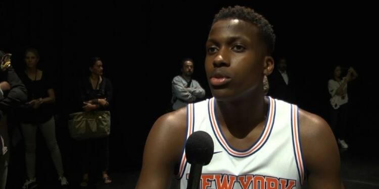NBA/Ntilikina (New York):