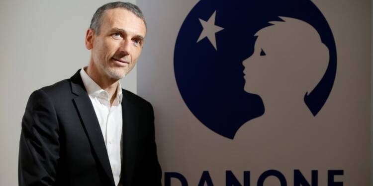 Danone: Emmanuel Faber va succéder à Franck Riboud