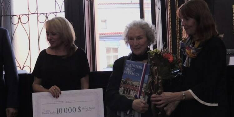 L'écrivaine Margaret Atwood reçoit le prix Franz Kafka 2017