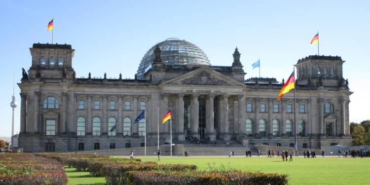 L'Allemagne échappe de justesse à la récession