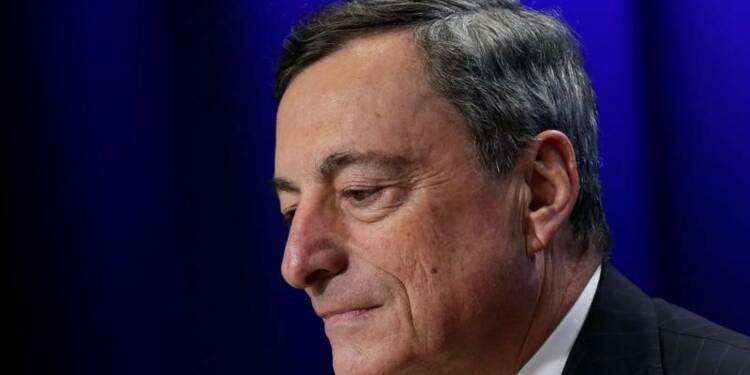 Les taux bas sont l'occasion de faire des réformes, selon Draghi