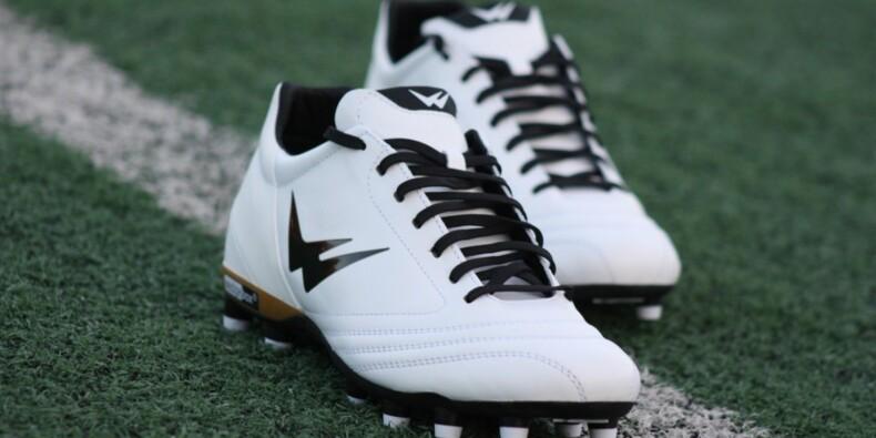 WizWedge, la chaussure de foot qui prend soin des pieds