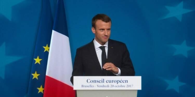 Brexit: Londres doit encore faire un effort, selon Macron