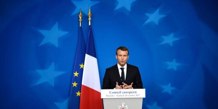 """Brexit: Londres """"loin du compte sur les engagements financiers"""" selon Macron"""