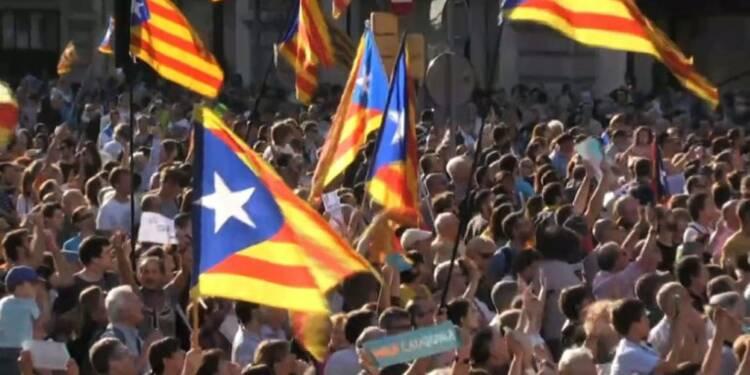 Barcelone: les Catalans à nouveau dans la rue