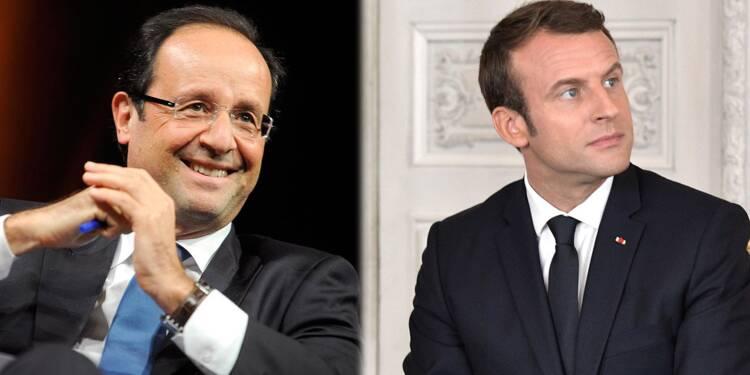 Macron aussi impopulaire que Hollande après 6 mois au pouvoir