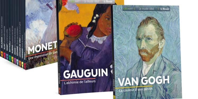 """Gauguin, Monet, Van Gogh… une nouvelle collection de """"beaux livres"""" sur les grands peintres"""