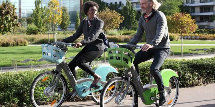 Voici Vélib' Métropole, le nouveau vélo high-tech du Grand Paris