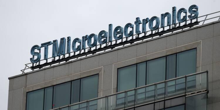 STMicroelectronics optimiste après de bons résultats trimestriels
