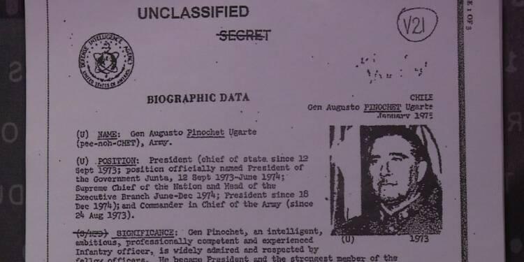 Un musée chilien expose des documents déclassifiés de la CIA