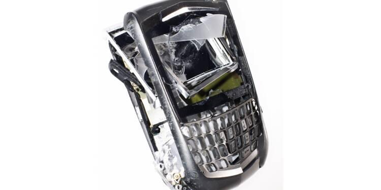 La lente agonie du Blackberry