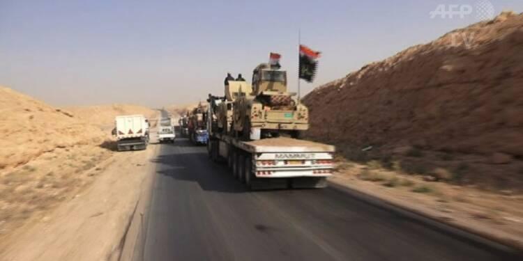 Irak: l'armée avance dans la province d'Al-Anbar
