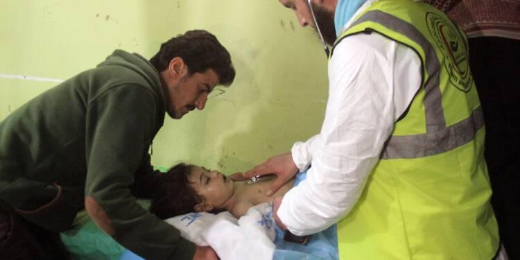 """Attaque au gaz sarin en Syrie: Moscou dénonce des """"incohérences"""" dans le rapport de l'ONU"""